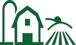 farm dark green icon